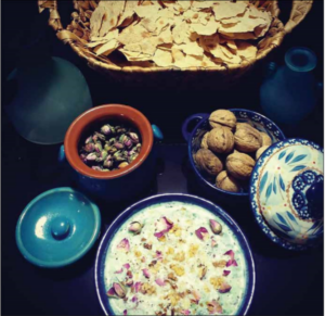 غذاهای محلی روستای انزها