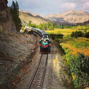 راه آهن روستای انزها