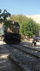 قطار انزها